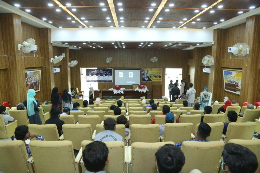 کھیلوں کے عالمی دن پر اوکاڑہ یونیورسٹی میں سیمینار کا انعقاد